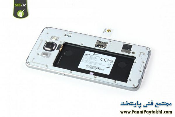 آموزش تعمیر دوربین جلویی سامسونگ جی 5