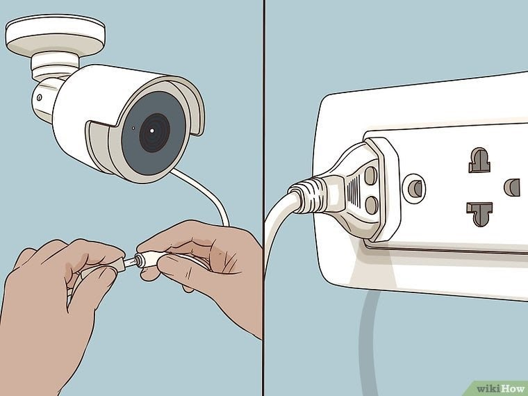 اتصال دوربین