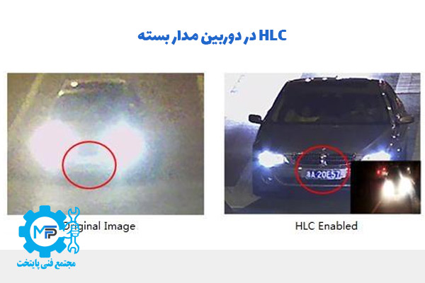 HLC در دوربین مدار بسته