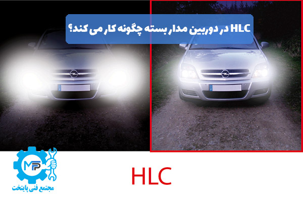 HLC در دوربین مدار بسته چگونه کار می کند؟