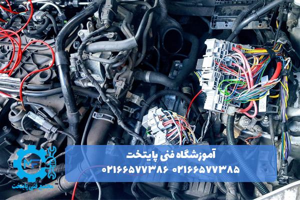 تعمیر سیم کشی خودرو